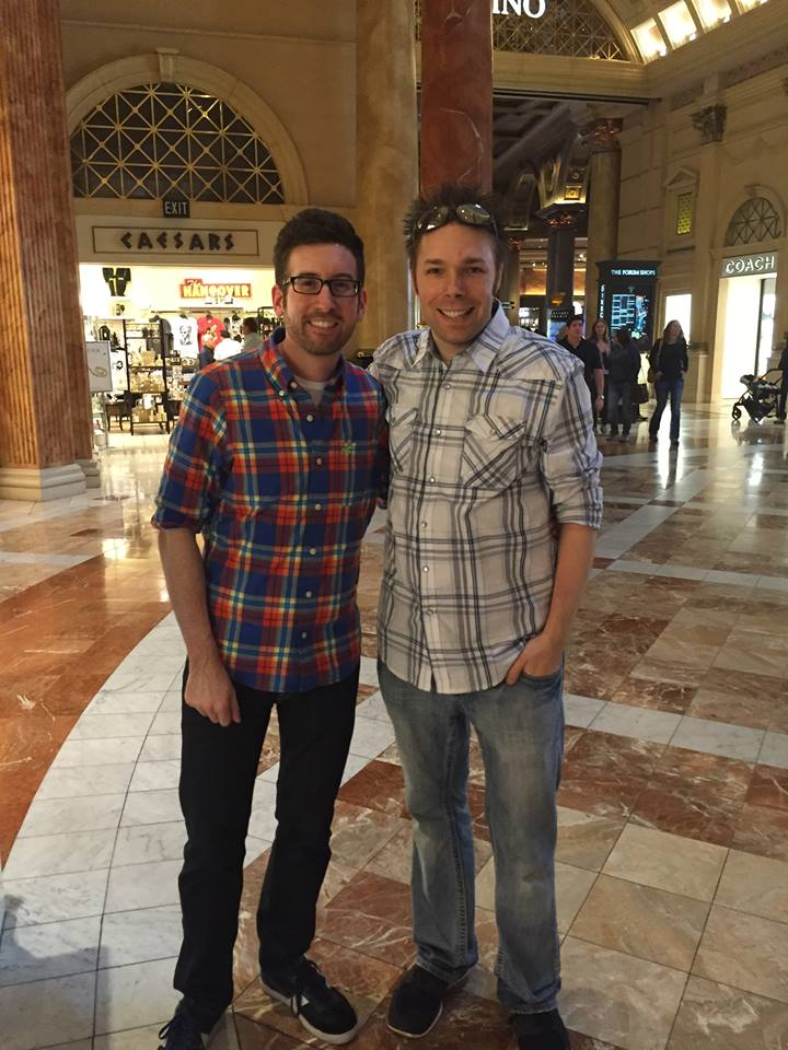 Dustin Drorbaugh with Jon Kallis in Las Vegas / 2016